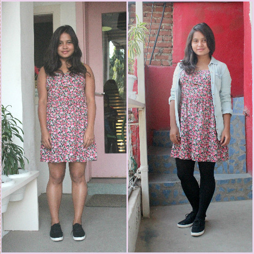 2- summer dresses in winter