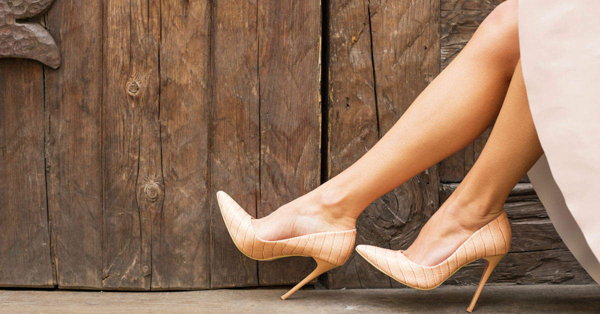 WHAT? Shoes That Make You Taller And Slimmer?!