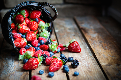carbs that are good berries