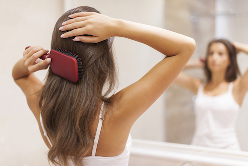 the right way to brush your hair