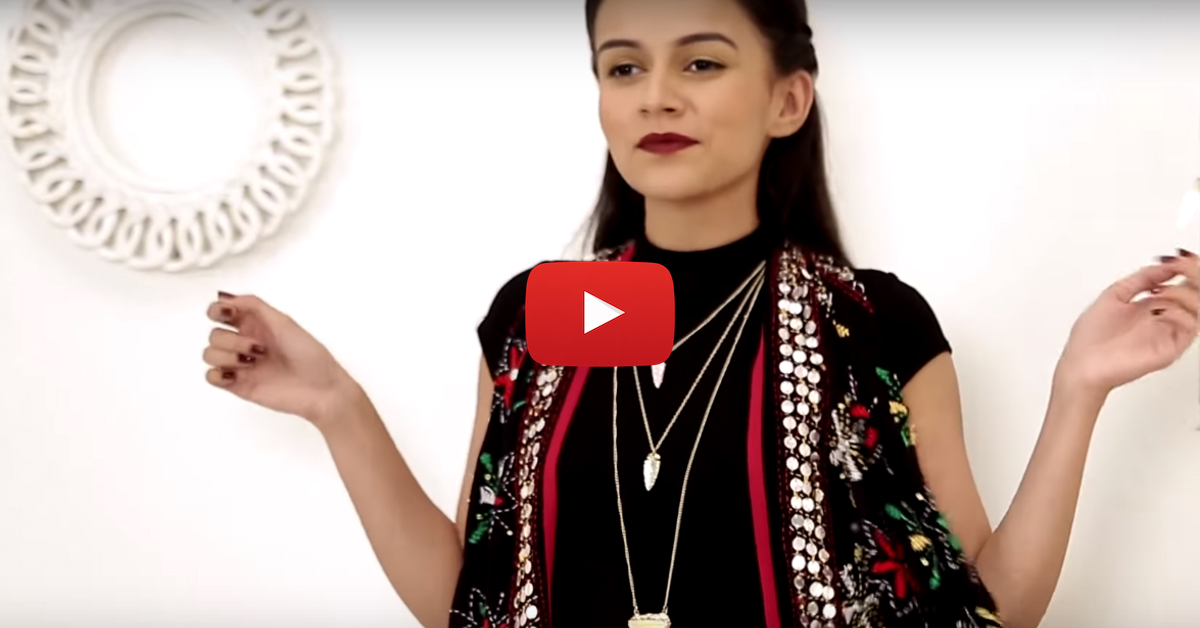 4 Fab Ways To Style Your Dupatta (Not Just With Indian Wear!)