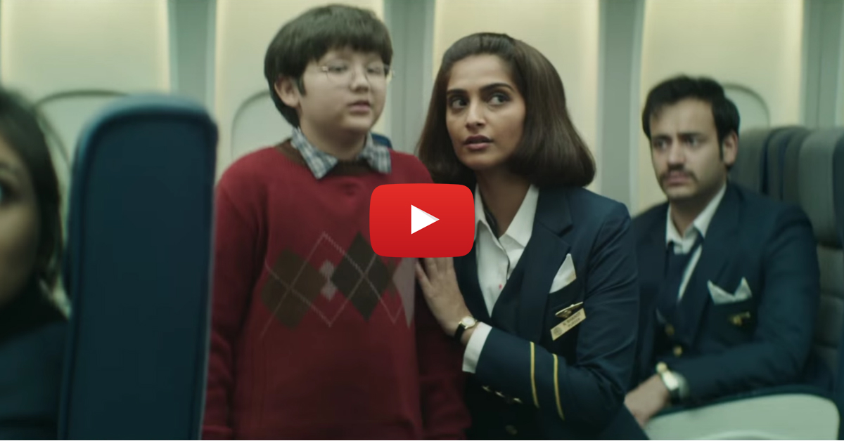 Neerja: Sonam Is Amazing As One Of India's Real Life Heroes!