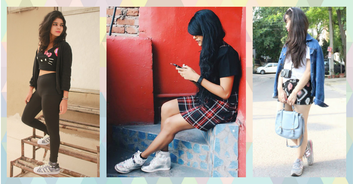 How To Wear Your Sneakers With EVERY Kind Of Outfit!!