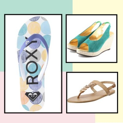 What to wear on a beach holiday shoes