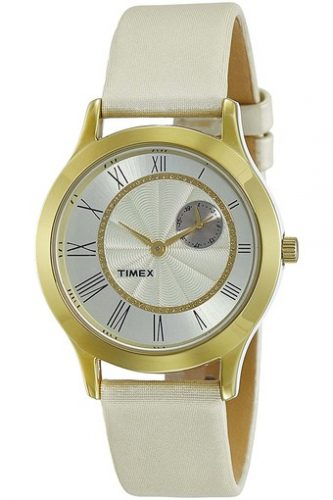 Womens Analogue Leather Watch-affordable-watches