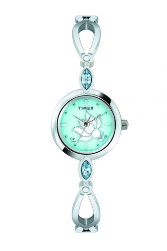 Womens-Green-Dial Analogue Watch-affordable-watches