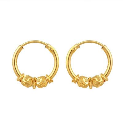 Yellow-Gold-Hoop-Earrings-gifts-for-in-laws