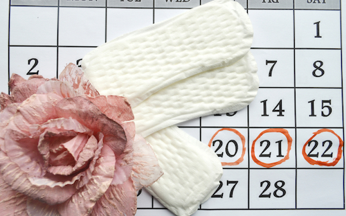 how your period affects your skin