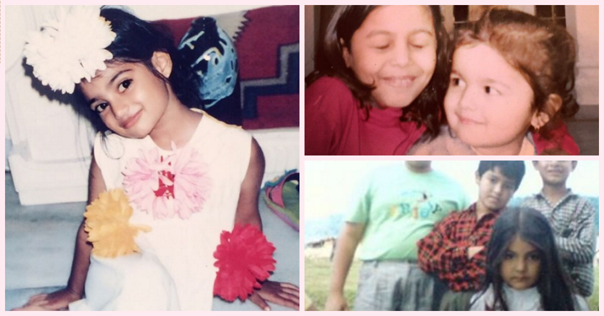The CUTEST Pictures Of Our Fav Celebs When They Were Kids!