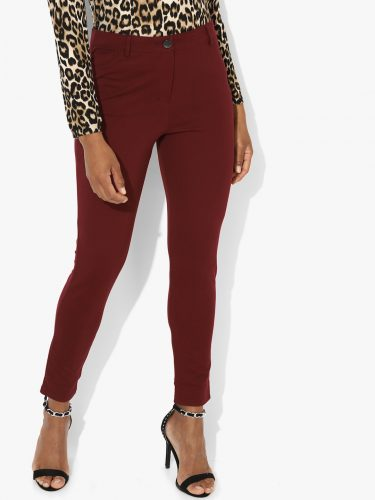 dorothy-perkins-maroon-treggings-