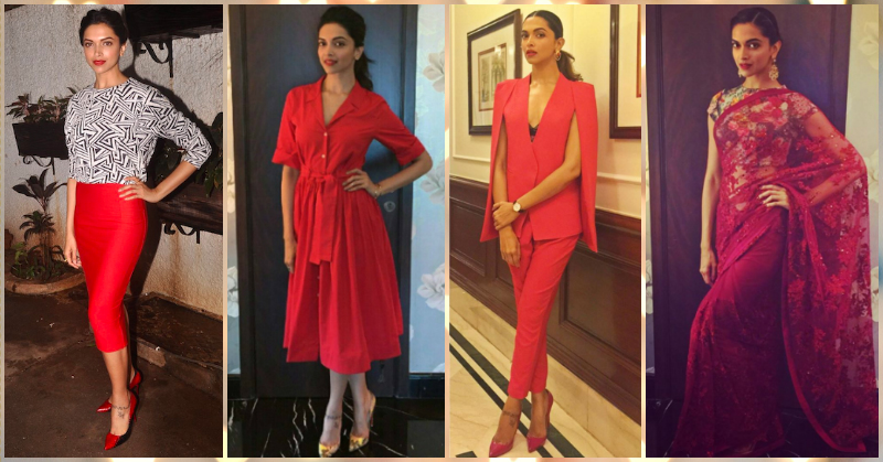 6 Times That Deepika Padukone Wore Red And Made Us Go WOW!