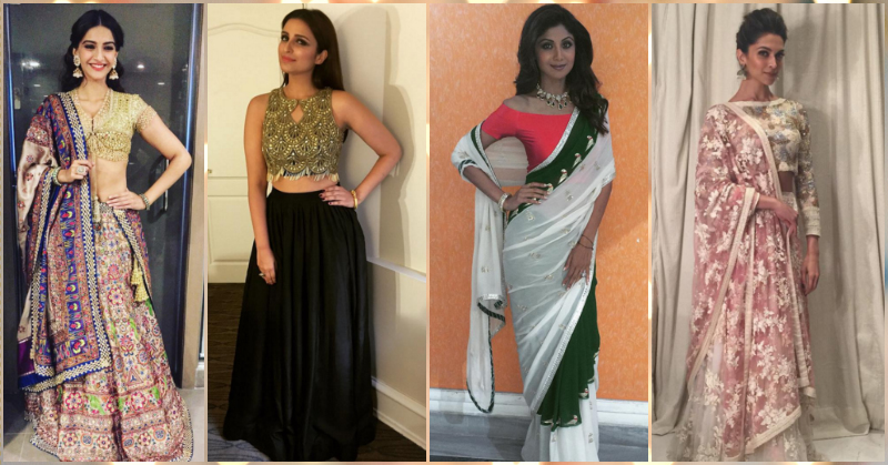 9 Stunning Necklines For Your Sari Blouses!