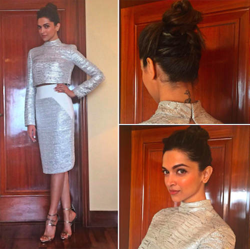 deepika padukone hairstyles - point 5 braid at the back