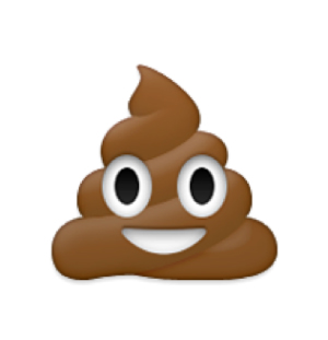 favorite emoji says about you - the pile of poo