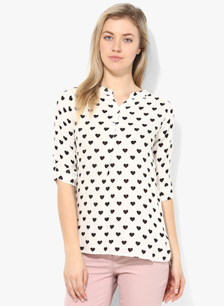 affordable printed tops