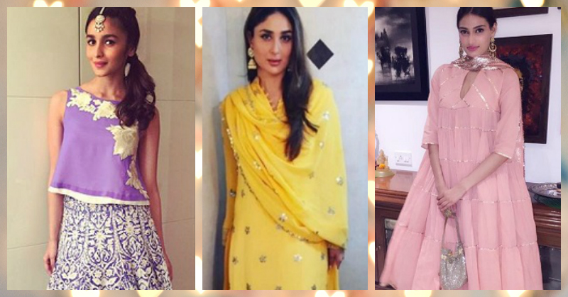 7 Pretty Colours To Wear To A Morning Wedding Function!