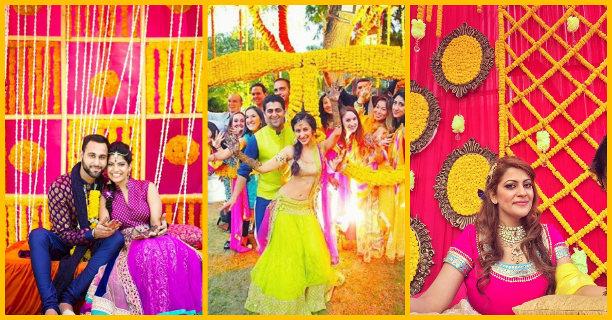 7 Pretty Ideas To Use Genda Phool In Your Wedding Decor!