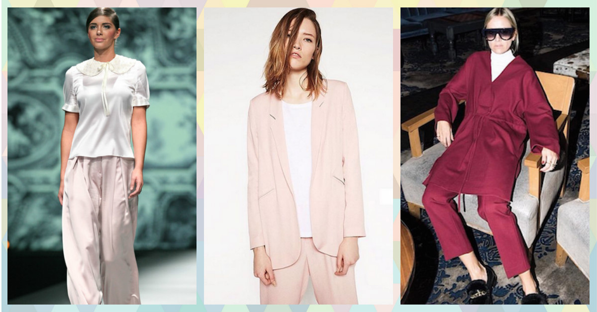 Who Knew Wearing Pajamas Would Become A Fashion Trend One Day!!