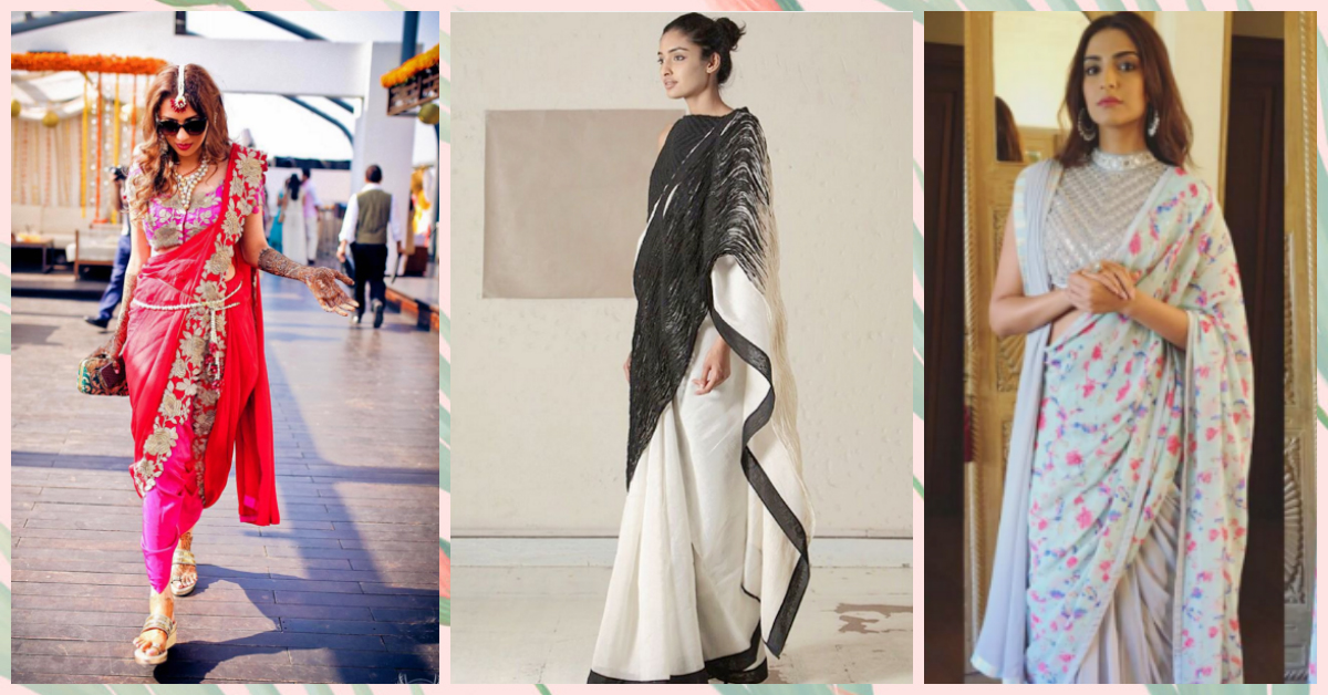 5 Exciting New Ways Of Draping Your Saree!