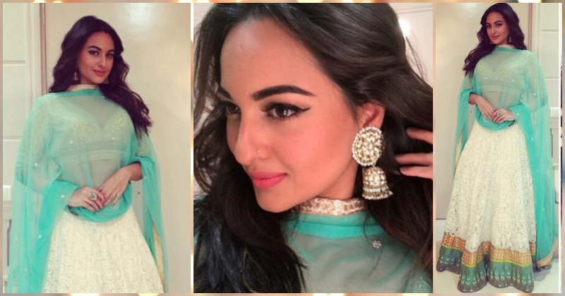 How To Steal Sonakshi's Summery Look For Your Next Sangeet!
