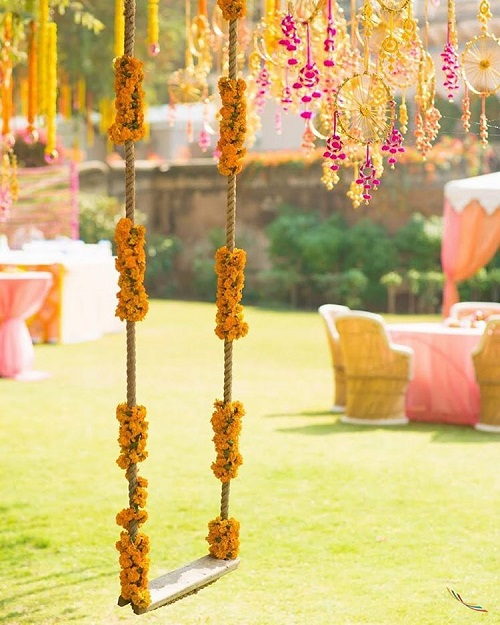 genda phool decor ideas