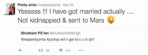 preity zinta on marriage 1