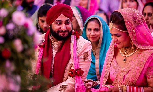 gorgeous sikh wedding