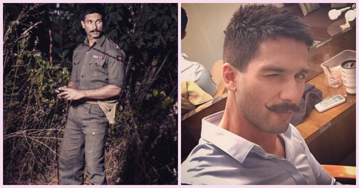 We're Totally Loving Shahid Kapoor's New Look For Rangoon!