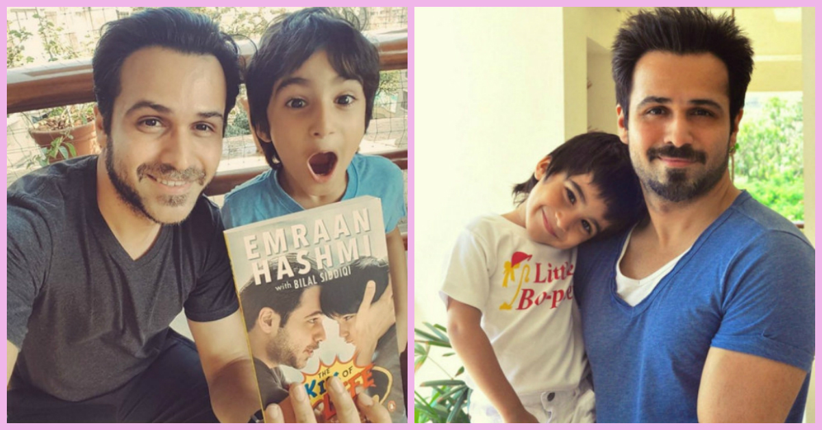 """Emraan Hashmi's Touching Book About His """"Superhero"""" Son Is Out!"""