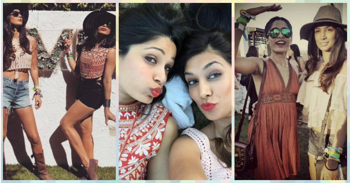 Freida Pinto Looks Like She Had SO Much Fun At Coachella!