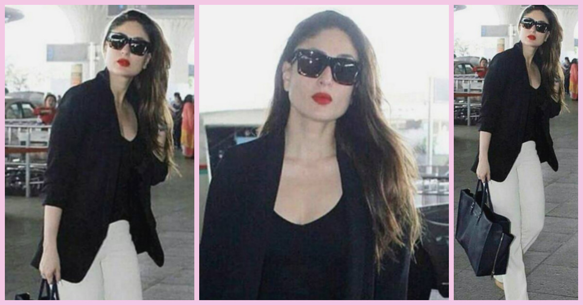 How To Steal Kareena's Sharp & Sleek Look For A Formal Meeting!