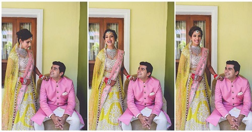 bridal lehengas that are not pink or red