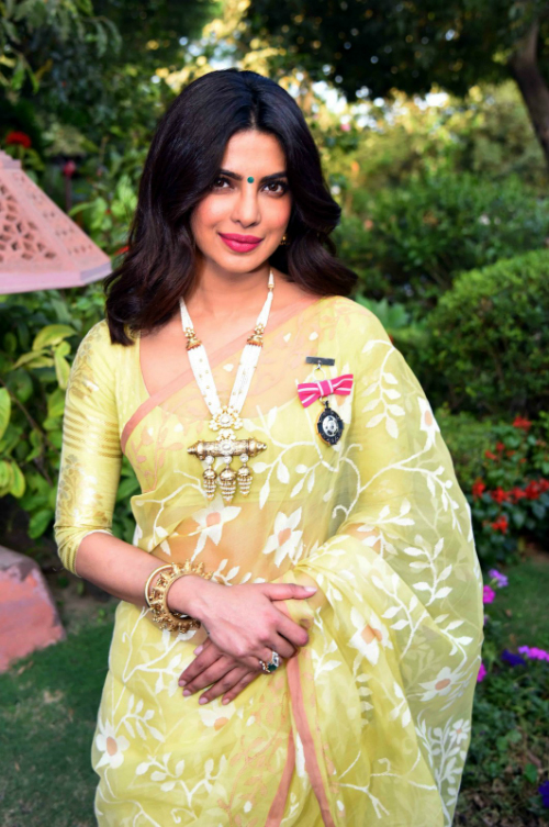 priyanka chopra was awarded the padma shri