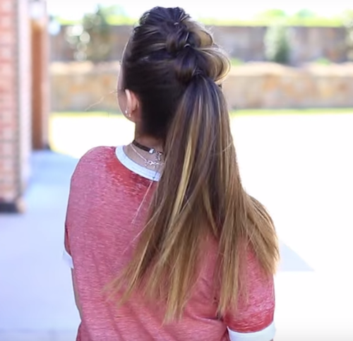 2 college girl hairstyles