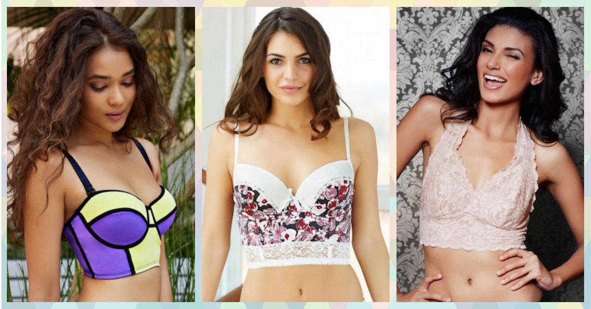 8 Bras SO Pretty That You'll Want To Wear Them As Tops!