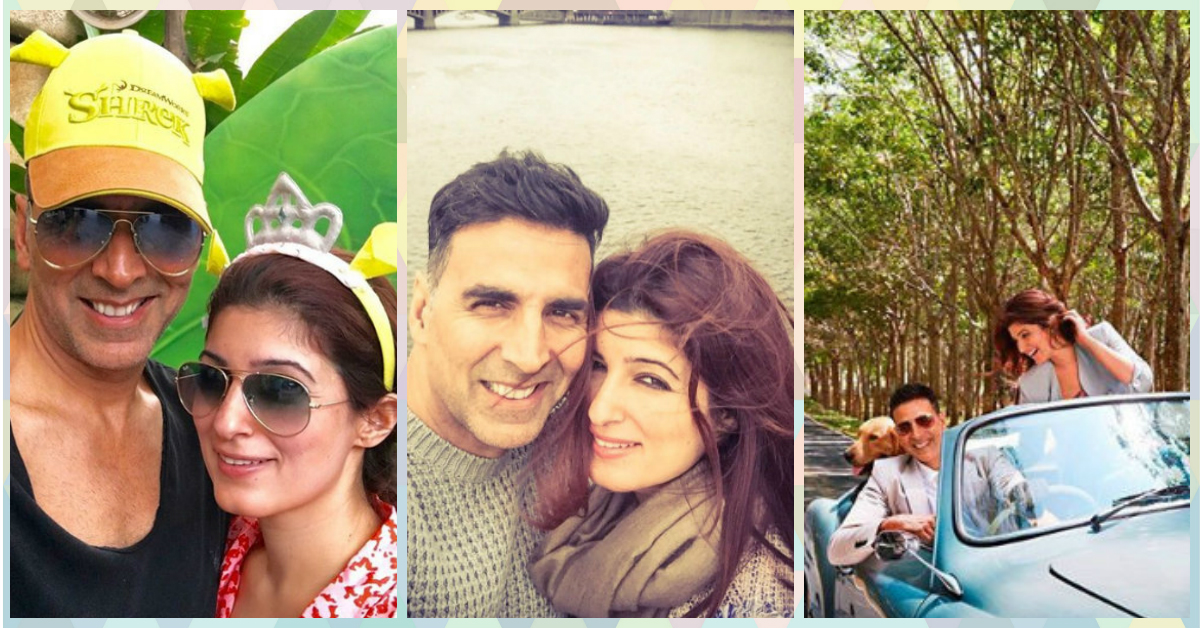 7 Times Akshay & Twinkle Proved That They're *Perfect* Together!
