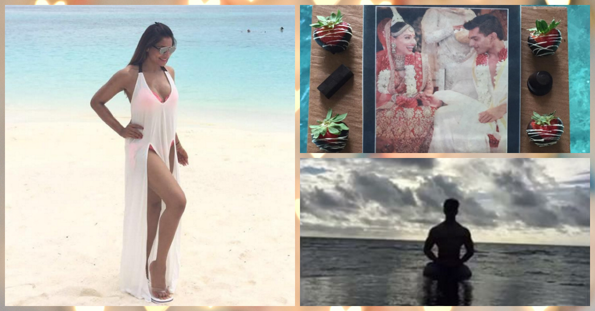Bipasha & Karan's Honeymoon Pictures Are Just TOO Adorable!