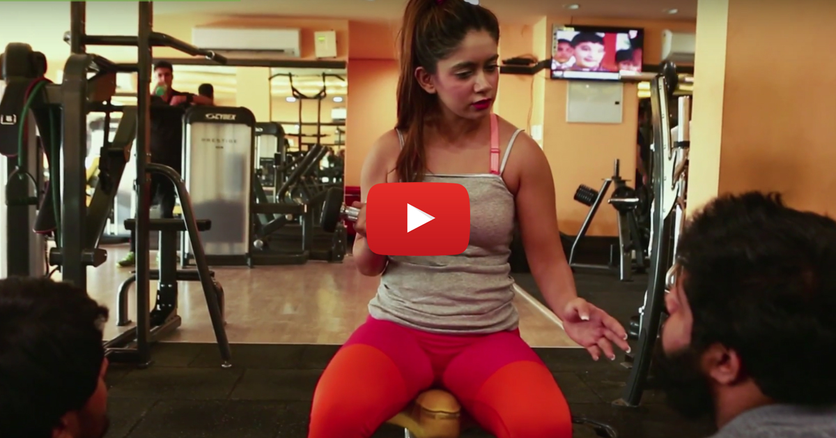 """This Crazy """"Gym People"""" Video Will Make EVERY Girl Laugh!"""