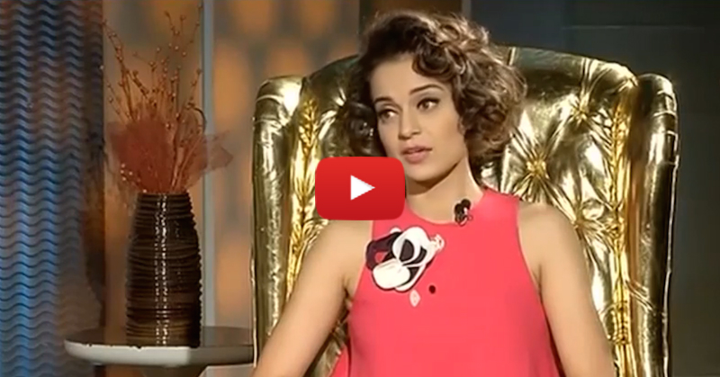 Kangana Ranaut's Brutally Honest Interview: This Is A MUST Watch