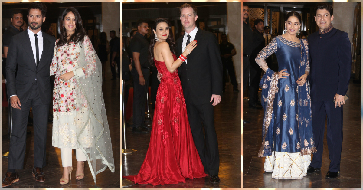Preity Zinta's Star-Studded Wedding Reception Looks Spectacular!