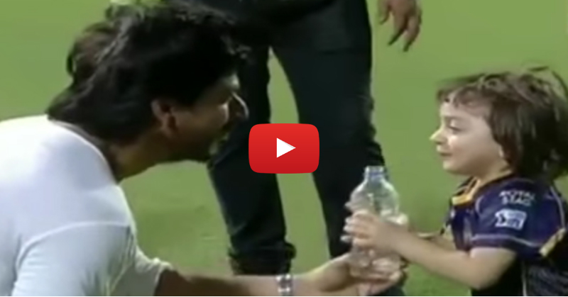 This Video Proves That SRK's Best Role Is... As A Dad!!