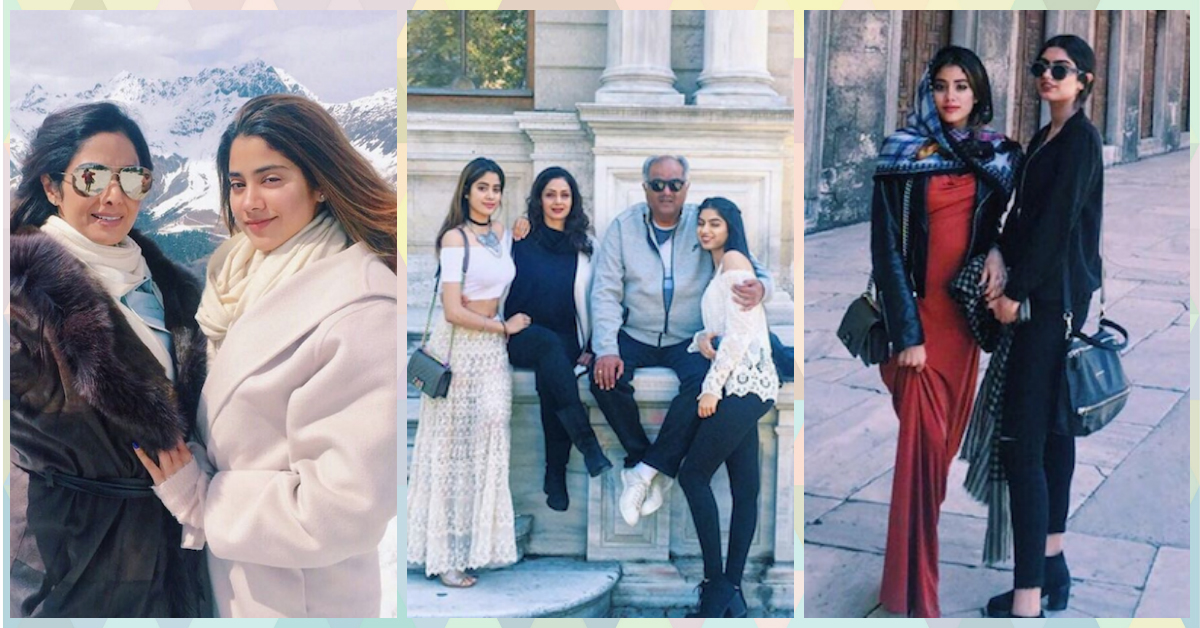 Sridevi & Khushi's Pics Will Make You Want To Go On Chhutti NOW