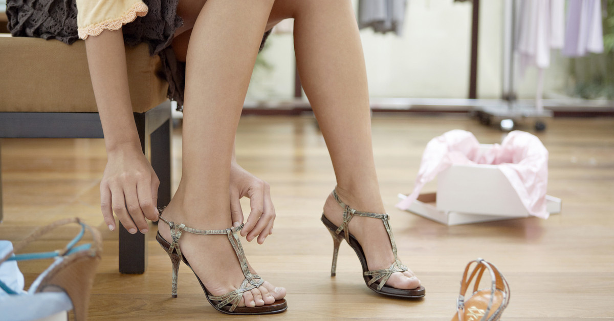 Did You Know There's A *Right* Time Of Day To Go Shoe Shopping?