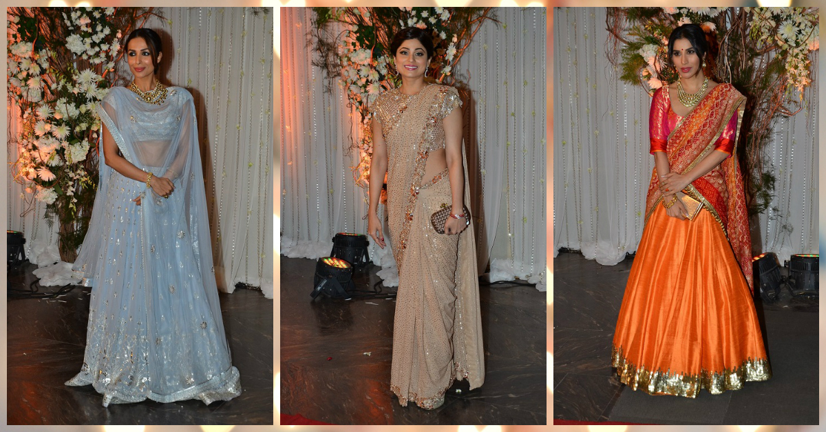 6 Celebs Who Wore AMAZING Outfits To Their Friends' Weddings!