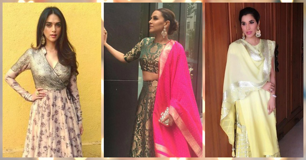 6 Stunning Celeb Outfits To Inspire Your Sangeet Style!