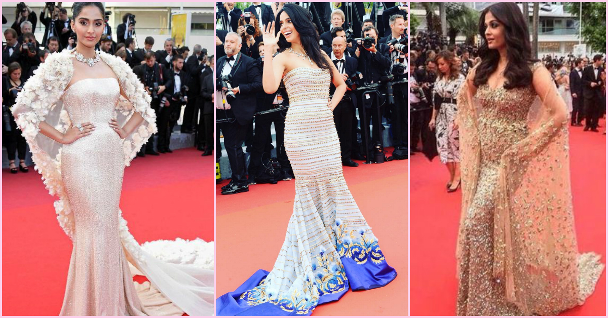 Sonam, Aish & More... Our FAV Stars Are Taking Cannes By Storm!