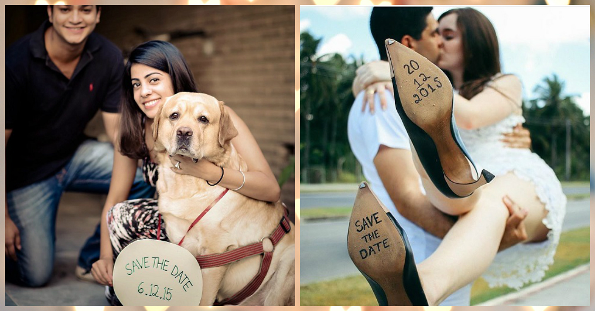 6 Save The Date Ideas That Are Just Too Adorable!