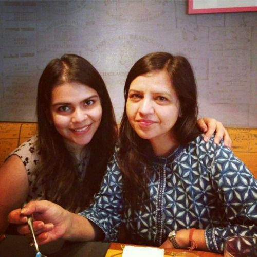 anusha- beauty tips from their mothers