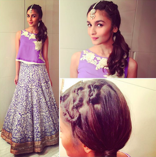 5 hairstyles that look good with Indian wear