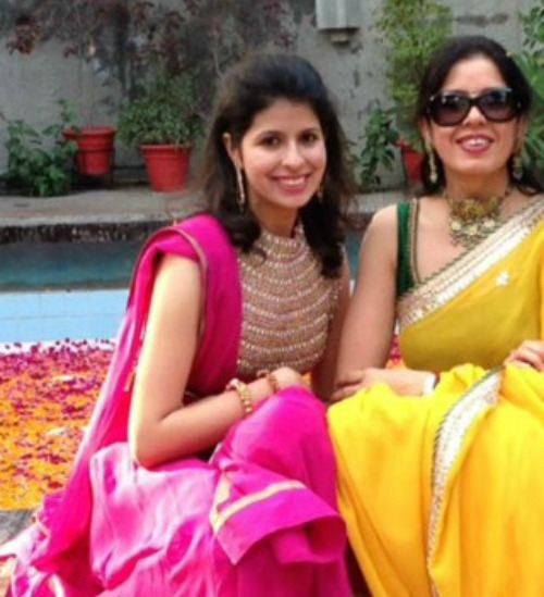tanaya - beauty tips from their mothers